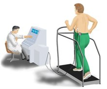DMS Wireless ECG Stress Test System with Software Kit+Trolley+ Treadmill