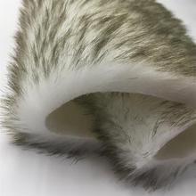 top quality long hair luxury Garment faux fur fabric