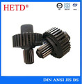 High precision China supplier 42CrMo4 forged induction hardening steel shaft Gear shaft