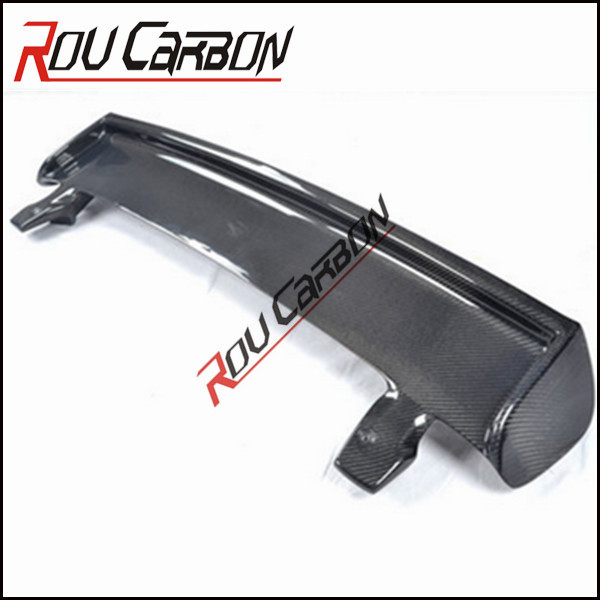 spoiler wing For Suzuki for swift Carbon Fiber body kits car parts productions line