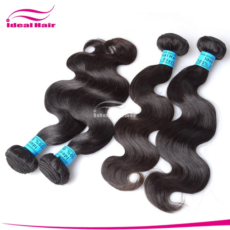 6a 100% unprocessed hair weaving wholesale brazilian hair