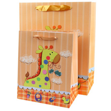 Giraffe animal zoo kids birthday party decoration gift bag