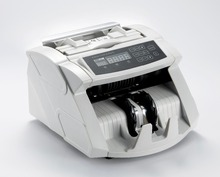 EC800 Bank note professional two pocket bill banknote sorter money counter and cash currency sorter machine for Euro