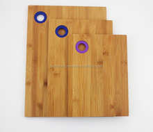 Fancy Bamboo Cutting/Chopping boards with Silicon Hole