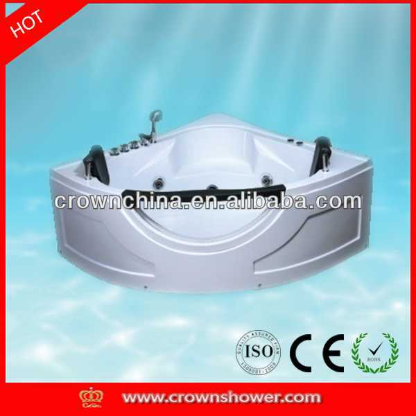 Modern Design Sanitary Ware Freestanding Acrylic Bathtubs wood fired hot tub