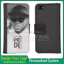 Leather wallet phone case custom printing phone cases For Samsung galaxy s5, Cell Phone Printing Case For Samsung s5