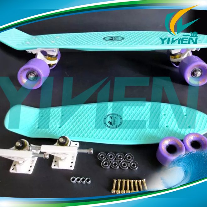 high quality new 22inch skate complete longboard,pen mini cruiser for plastic longboard