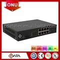 8FE Ports FTTB Solution GEPON ONU With POE and Back Up Battery Optional