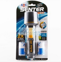 Blue R6 D Size LED Flashlight Battery