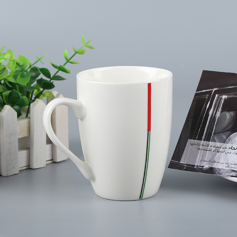 National gift set for AUE Holiday gift printed mugs with custom logo
