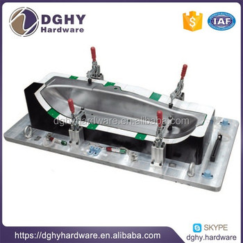 Auto parts inspection fixture, factory design and manufacture