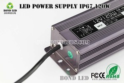 high power 120w LED driver led power supply with CE RoHS UL approved