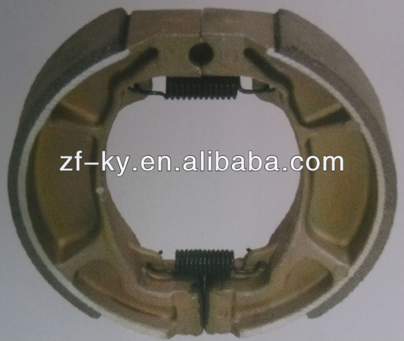 High quality AX100 motorcycle brake shoe, motorcycle brake system parts