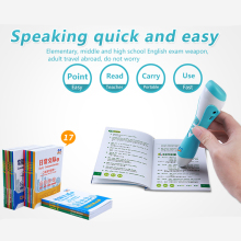 Tagalog to English language translation educational toy talking pens with audio books