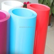 Plastic Thin Rigid Clear Transparent Colored PVC Film Sheets In Rolls