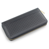 Wholesale Long Zipper Black Hollow Out Woman Clutch Credit Card Holder Rfid Wallet Purse