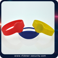 High quality silicone rfid bracelet rfid wristband with MF Classic 1K chip