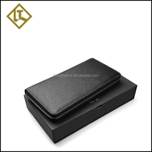 Quality assurance branded passport cheque book holder wallet