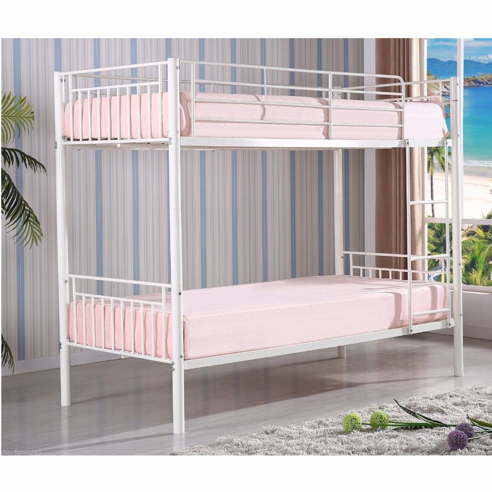 Strong metal frame cheap queen size bunk bed for sale for Queen size bed frames for sale