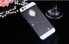 "2016 new product factory price phone case for iphone 6s plus crystal glitter cell phone case 6s 4.7"" with pc material"