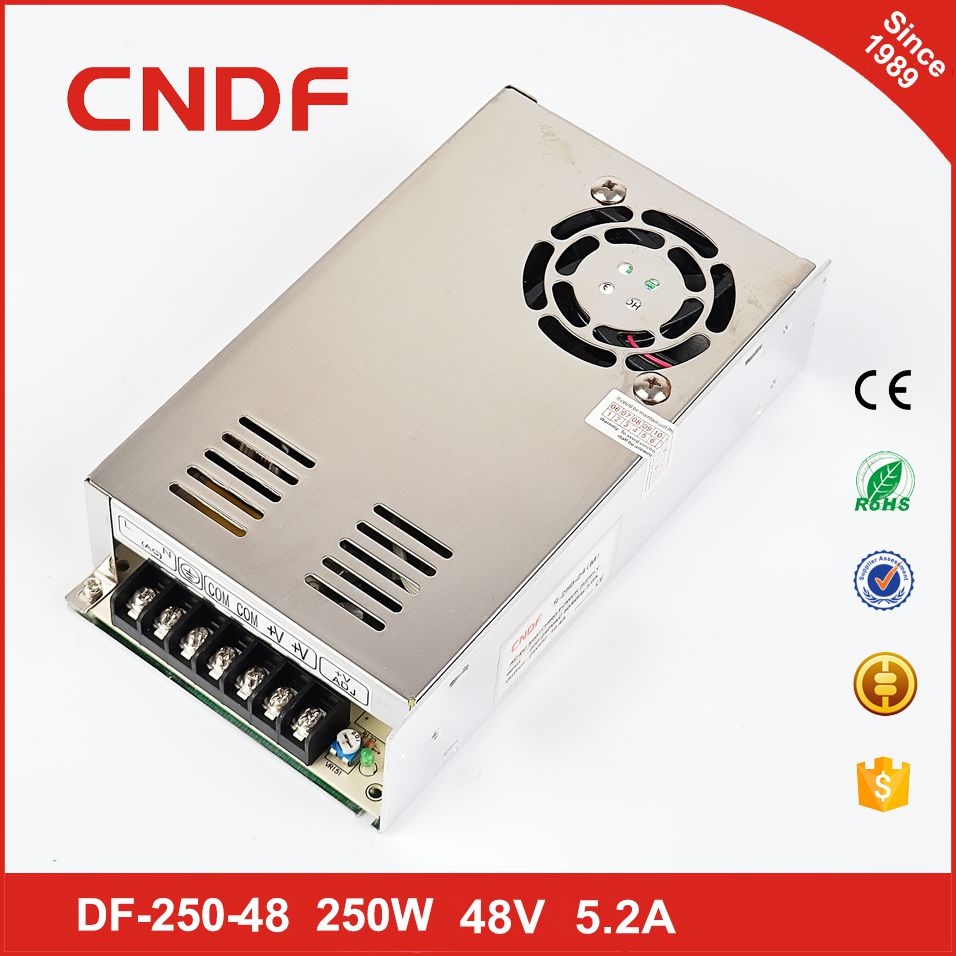 Good price 250w dipimpin driver power supply 48v 5.2a transformer for led light strips