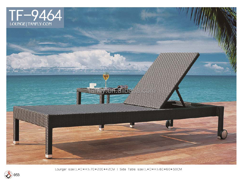 modern outdoor hotel furniture swimming pool lounge chair
