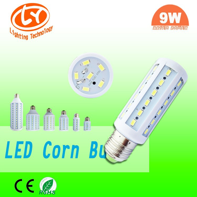 Alibaba Express In Portuguese e27 9w led bulbs components high quality led corn bulb made in China
