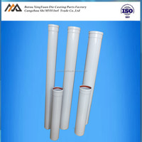 Diameter 80mm,125mm single exhaust extension flue pipe for gas boiler