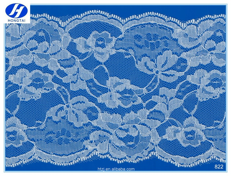 Hongtai floral lace george fabric indian fabrics nylon rayon lace fabric