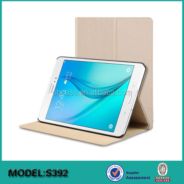 Factory price flip stand leather cover case for samsung Galaxy tab S3 9.7 SM-T825 820