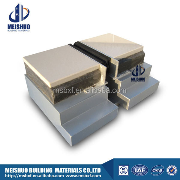 interior exterior waterproof stretch rubber expansion joints concrete