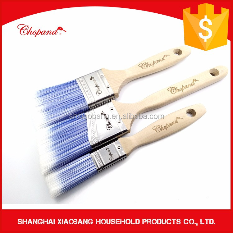 High Grade Quality Perfect China Wooden Handle Paint Brush Set