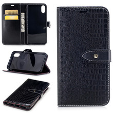 Luxury snake skin flip wallet case crocodile leather case for iphoneX leather case