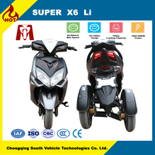 Super X6,Hot Sale Cheap Electric tricycle Adult three Wheel Electrical Scooter