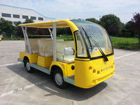8 seats electric tourist car