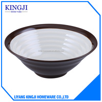 Hot selling high quality fashion style plastic bowl,melamine bowl from China manufacturer
