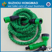 expandable water hose with water gun /rubber water garden hose pipes/water hose reel