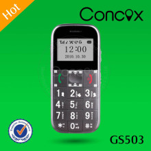 Senior cell phone GPS Concox GS503 location phone for elder real time tracking