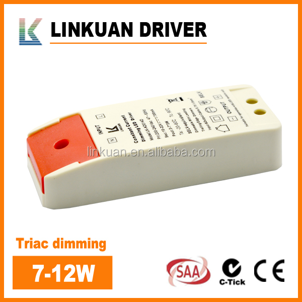 SAA CE Approved dimming smoothly 200-277VAC 16-45V Constant Current triac dimmable led driver 10W 20W 30W 40W 50W 60W 70W