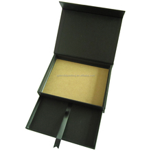 high quality luxury foldable packaging box for jewelry