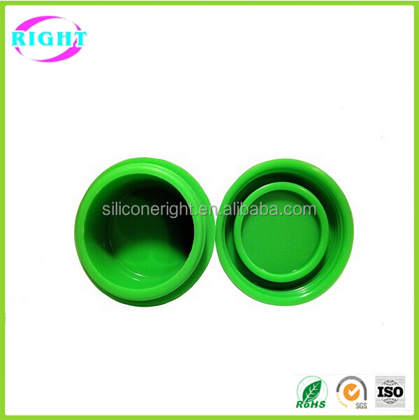food grade silicone weed jar wax/oil containers