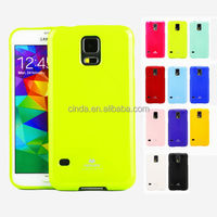 Mercury Soft TPU Glossy Shockproof Silicone Gel Case Cover for Samsung Galaxy S5 G900