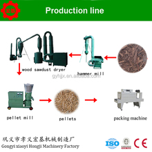 Recycling Animal Feed Pellet Production Line