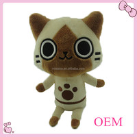 High quality cute cat plush toy for kids