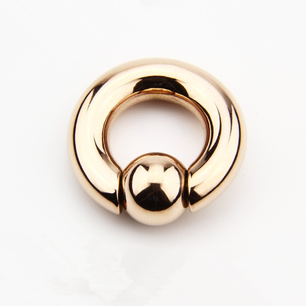 stainless steel custom wholesale PVD gold plated bcr piercing noses
