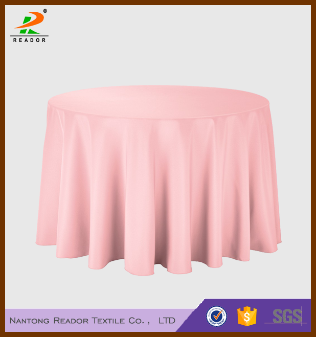 hotel linens round polyester table cloth for sale