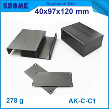 custom and anodizing aluminium housing enclosure distribution box with high quality for electronic