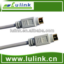 UL20276 Firewire IEEE 1394 Cable,6 pin Male to 6 pin Male cable