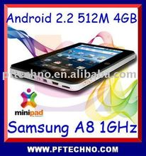 capacitive android 2.2 tablet
