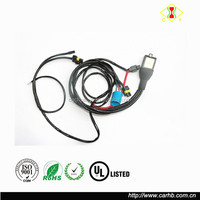 9004/9007 Bi-Xenon Dual Beam HiLo Headlight HID Kit Relay Wiring Harness with Fuse